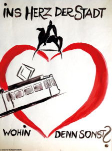 Werbeplakat von 1999.