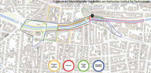 WJ48-07a-Stadt-Spaziergänge-'Dreisam-Boulevard'