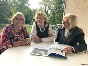 Die Planung für das 1. Lichterfest des Bürgervereins laufen auf Hochtouren! v.l.: Monika Lang-Dahlke (Finanzen), Loretta Lorenz (Redaktion) und Ursula Goldschmidt-Karcisky (Soziales & Kultur)