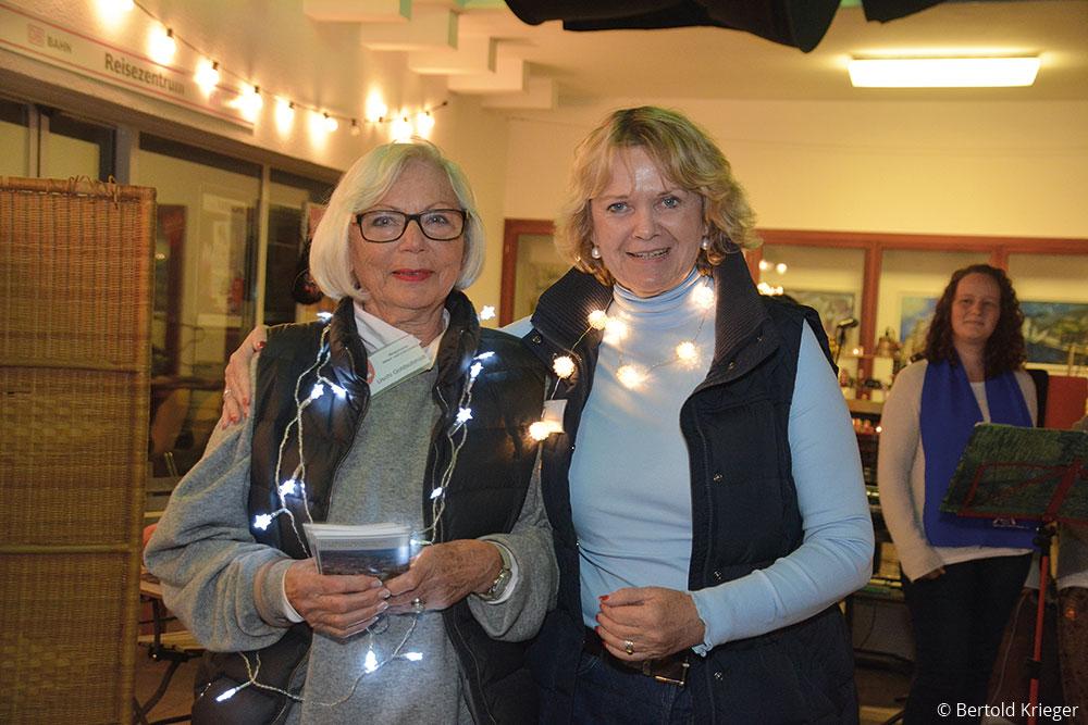 Die Lichterfest-Organisatorinnen