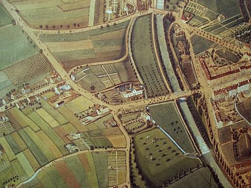 Plan Wiehre 1852 (Lerchplan)