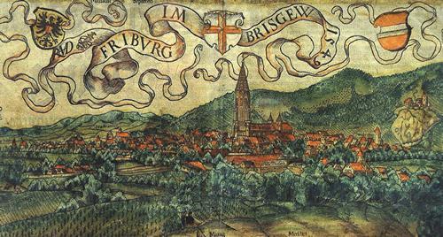 Freiburg und die Wiehre um 1580