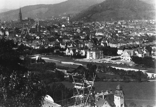 Blick vom Lorettoberg um 1908