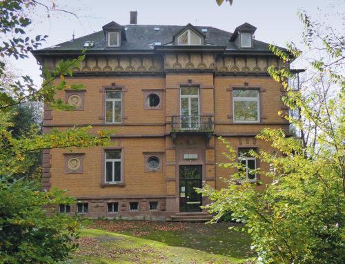 Seit 40 Jahren städtisches Atelierhaus: Villa Mitscherlich am Sternwaldeck