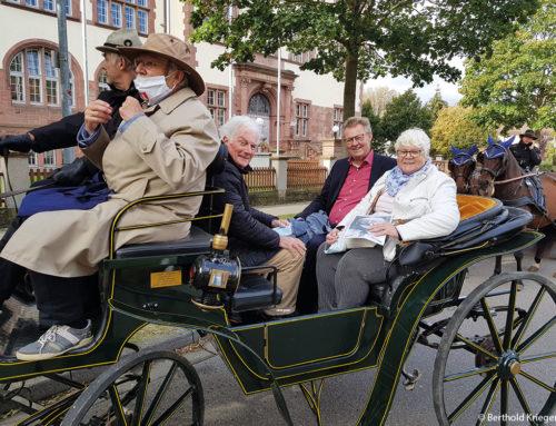 900 Jahre Freiburg: Eine vergnügliche Kutschenfahrt durch die südlichen Wälder Freiburgs