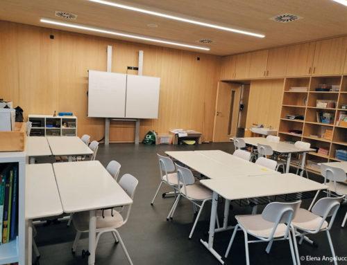 Die Kinder finden zurück ins Klassenzimmer
